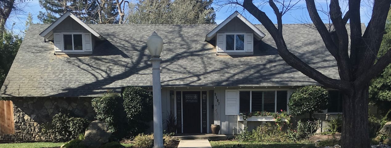 Quiet neighborhood home near Sequoia Nat'l Park - Visalia - Hus