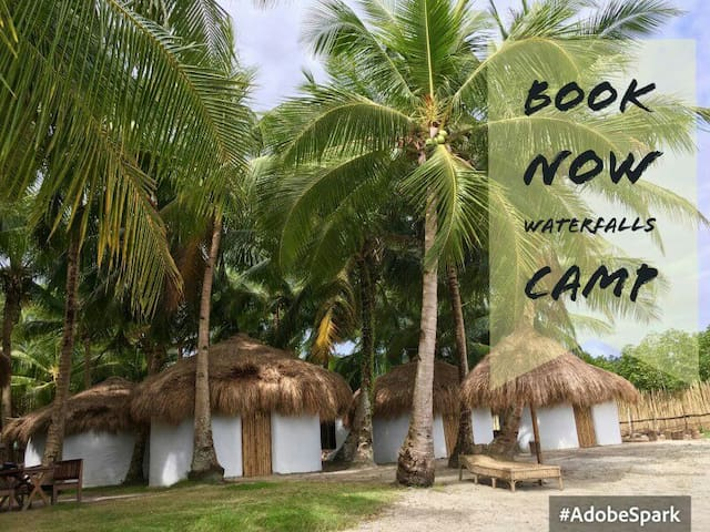 Waterfalls camp for 4people on the beach cottage#3 - San Vicente - Appartement
