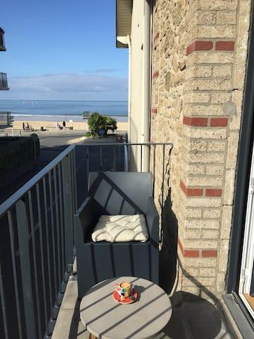 vue mer du balcon