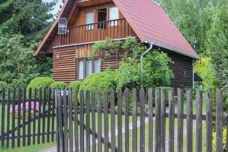 Holiday cottage with 2 bedrooms on 72m² in Gietrzwald