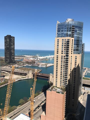 Lake view and fireworks - Chicago - Apartamento