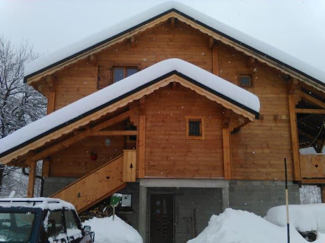 Chalet domaine des sybelles - Villarembert - Rumah