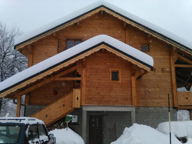 Chalet domaine des sybelles - Villarembert - บ้าน