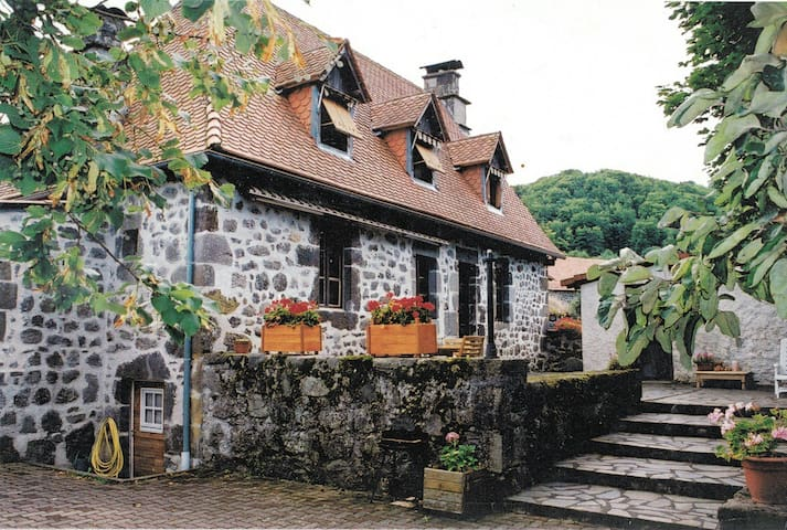 Gite de caractère entre Aurillac et Volcan Cantal - Saint-Étienne-de-Carlat - House