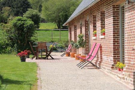 Gite pour 7 personnes tout confort avec jardin - Beaubec-la-Rosière - Hus