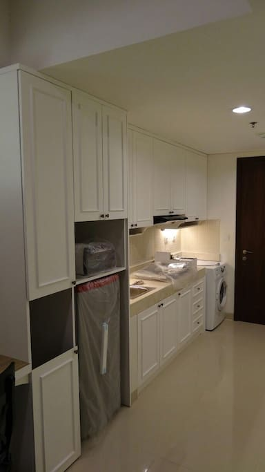 Kitchen & laundry space