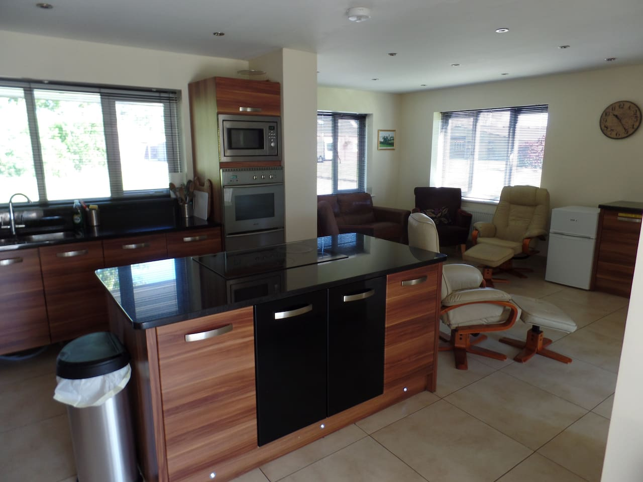 Time to Cook , kitchen open to guests from 6am to 9pm each room has its own fridge or fridge freezer