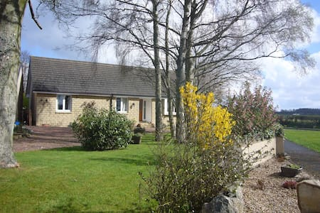 Rural accommodation 3 miles from Kelso - Kelso - Bungalow