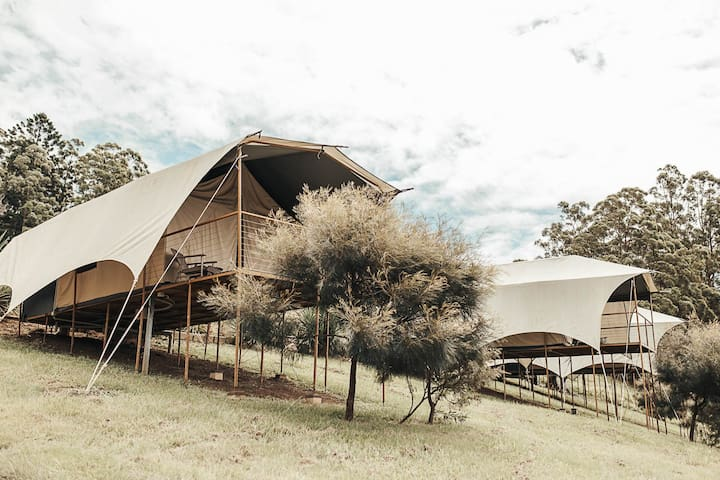 Magical Midginbil Glamping with spectacular views