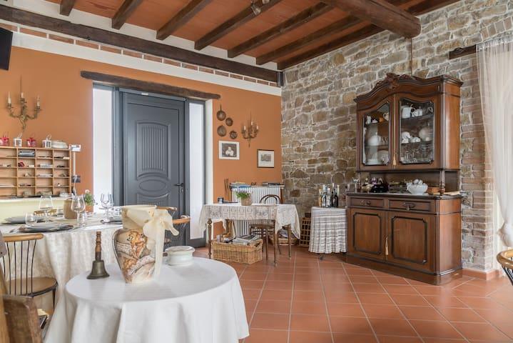 Natura e accoglienza -B&B PetraRosa - Neviano degli Arduini - ที่พักพร้อมอาหารเช้า