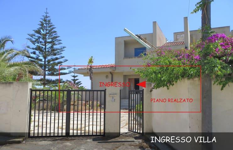 VILLA CON ACCESSO PRIVATO A MARE - Manfria - Casa