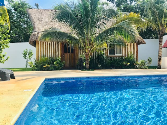 Beautiful Caribbean style Cabin 1 at Casa Sardina