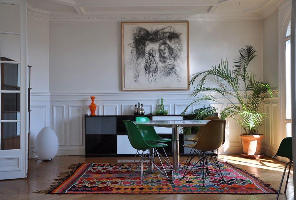 Appartement tres lumineux et calme appartements louer - Interieur appartement original et ultra moderne a paris ...