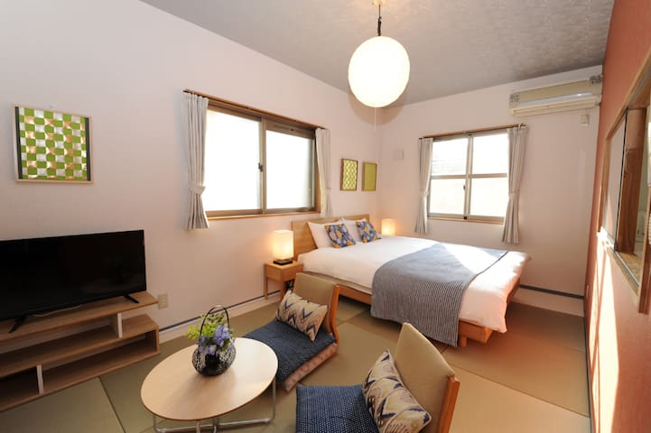 Viale Jurakumawari 8min walk from Nijo Castle#203
