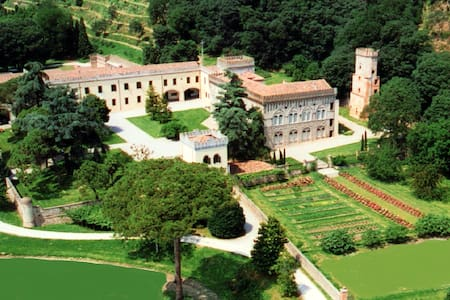 Torretta Ancient Castle with pool - Monselice - Slot