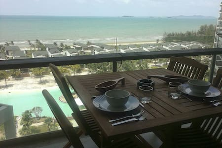 Condo on the beach Kho Samet view