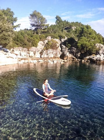 Sea sound apartment Pino Mljet