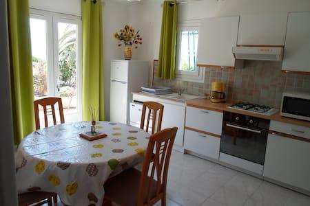 T2 rez de villa à 5 mn des plages - Bastelicaccia - Huoneisto