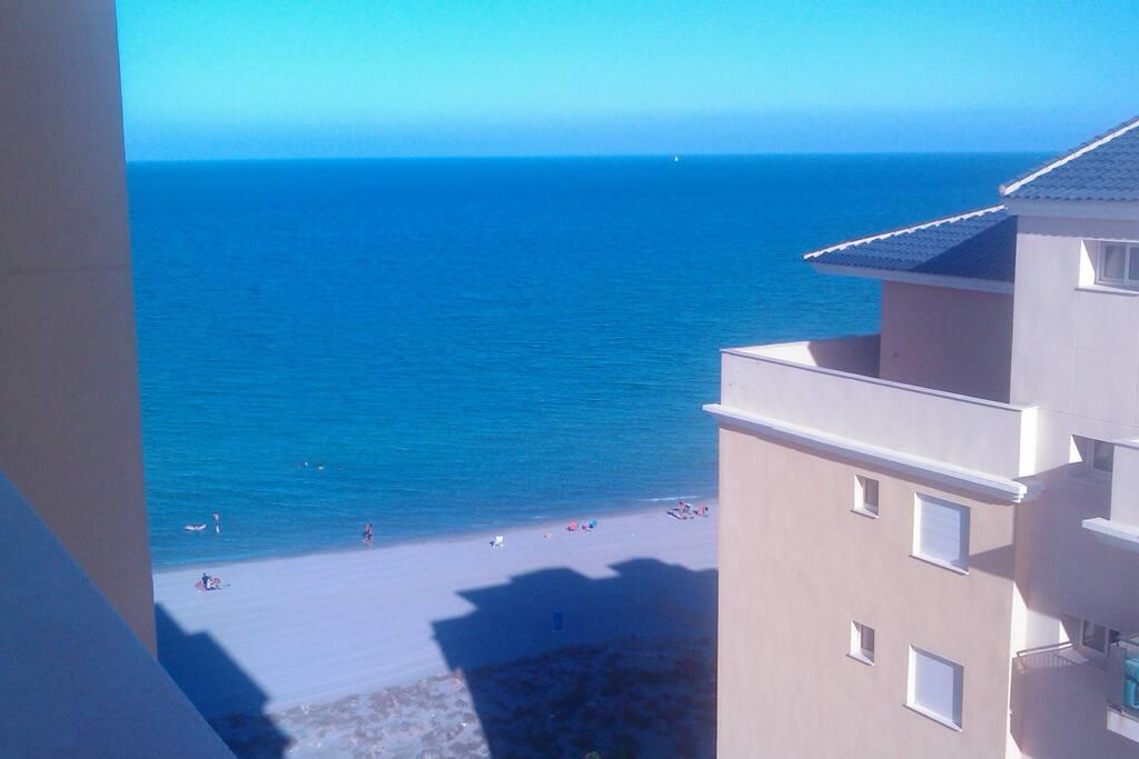 Vistas al Mar Mayor desde la terraza