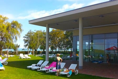 Enjoy the wellness! Lakeview Apart2 - Siófok