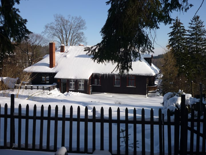 Chalet in Poland- Summer and Winter