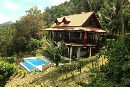 Magnifique Villa 4 chambres vue mer - Ko Pha-ngan