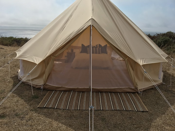 Four Person - Glamping Tent Overlooking Ocean (#3)