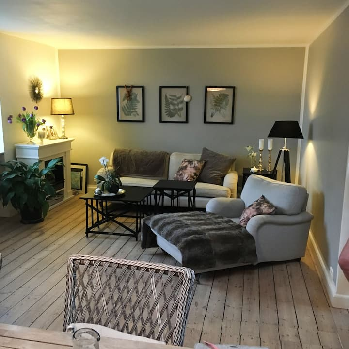 Large and Bright flat in the heart of Roskilde