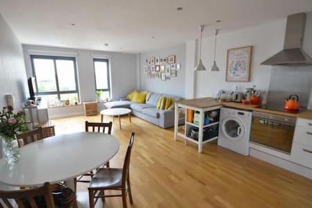 Bright room in warm spacious flat - แมนเชสเตอร์