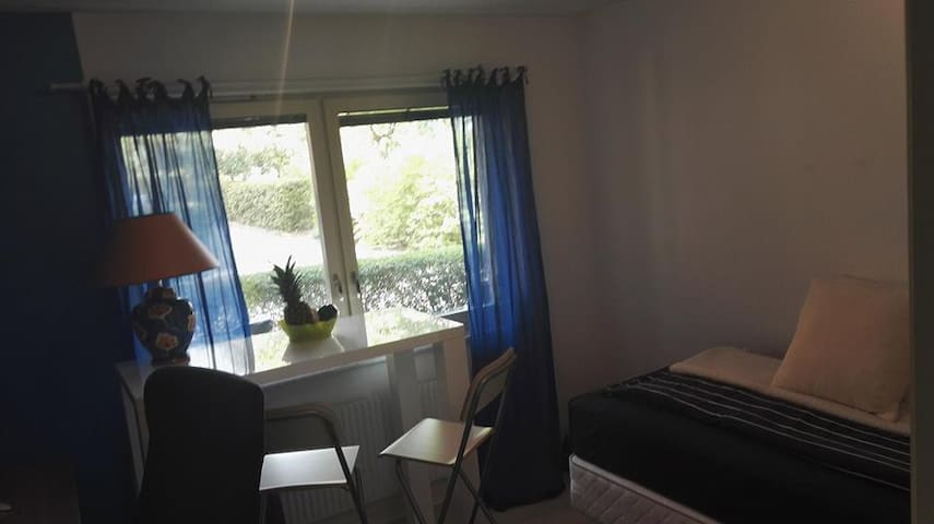 Single bed bedroom, close to city center (+bike) - Lund - 公寓