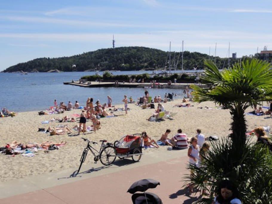 City Beach at Tangen!