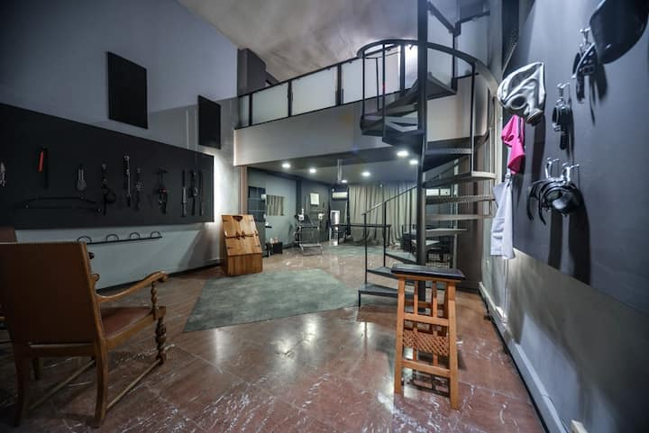 Your BDSM Dungeon in Athens 1200 squarefeet