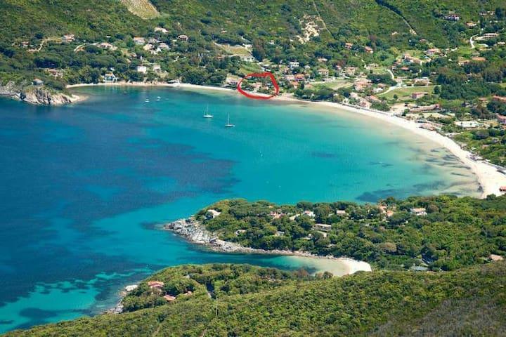 Isola d'ELBA a 5' dal mare a piedi - Procchio - Apartamento