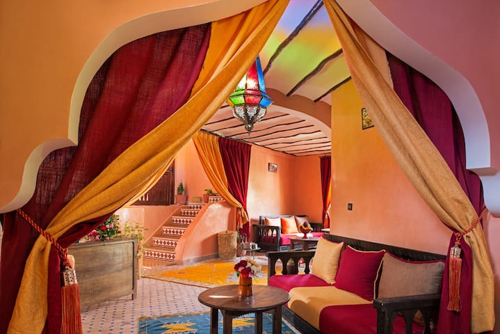 Riad Atlas Toubkal - Imlil - Bed & Breakfast