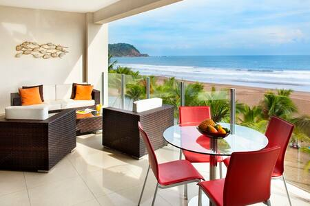 Ocean Front luxury 2 bedroom condo - Appartement