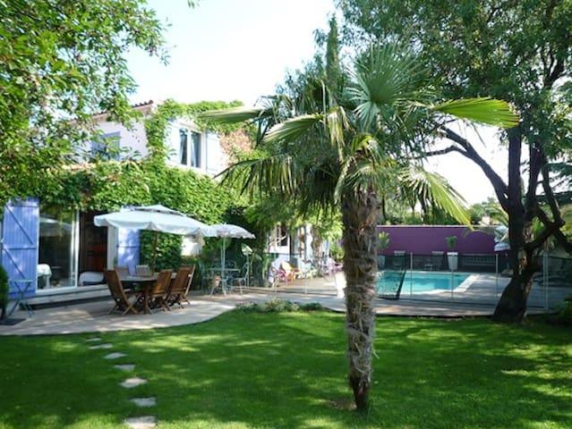 villa avec piscine dans le Sud - Cournonterral