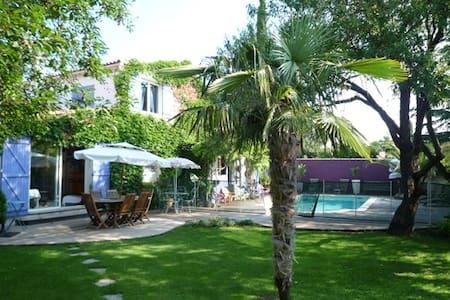villa avec piscine dans le Sud - Cournonterral - Vila