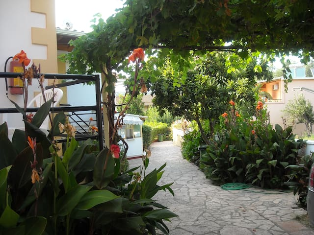 Apartment in a beautiful garden - Korfu