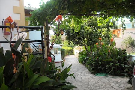 Apartment in a beautiful garden - Korfu - Wohnung