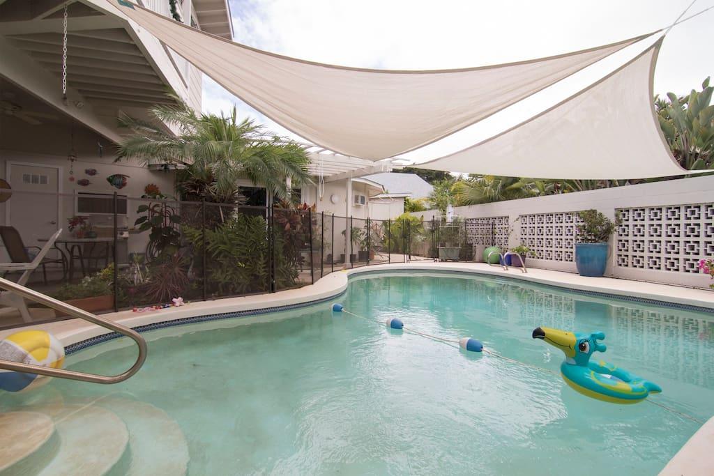 Gated Pool area