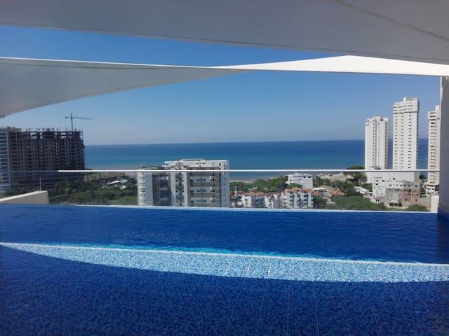 Fabuloso Apartamento Loft Entero. Vista al Mar