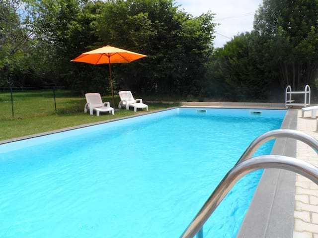 NEW!Villa with private swimmingpool - Lahitte-Toupière - Casa