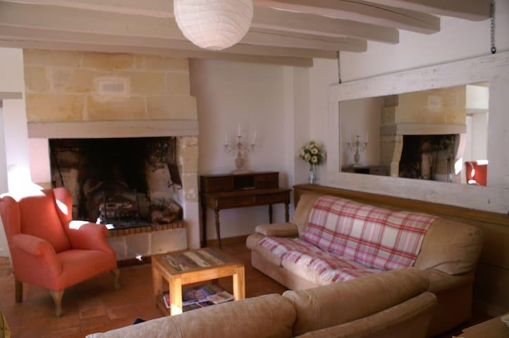Charmant Cottage entre Angers et Saumur - Blaison-Gohier - Ev