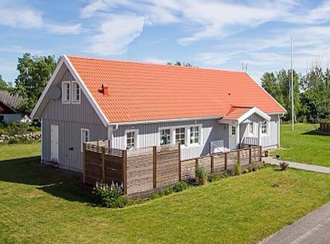 Glommens fiskehamn vid Falkenberg - Glommen - House