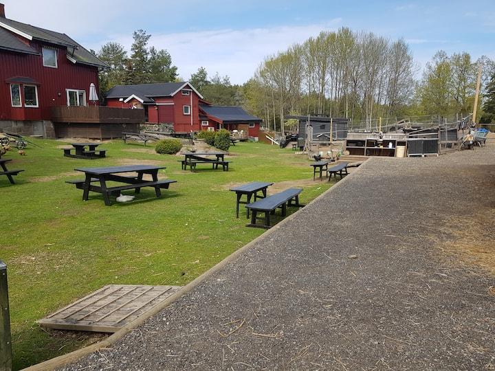 Landlig småbruk rom sør på Nesodden.