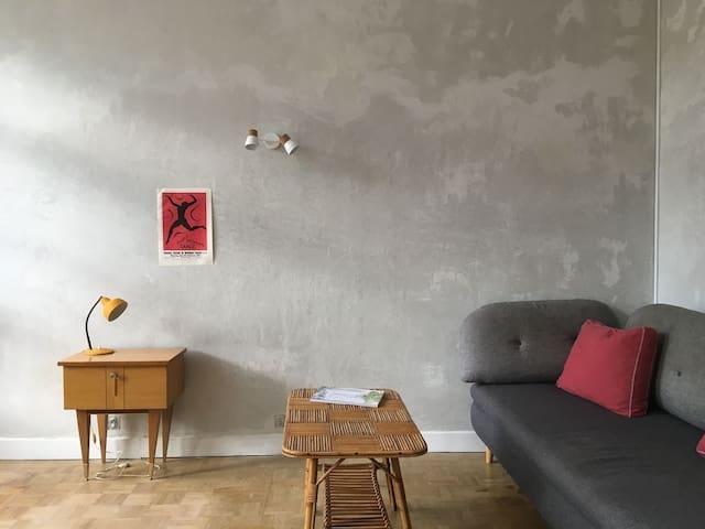 Appartement dans maison familiale