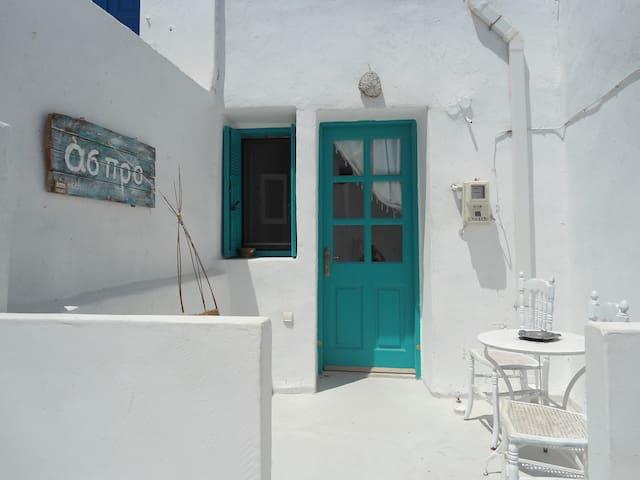 Aspro residence.Serifos,entrance of Pano Hora - Sérifos - บ้าน