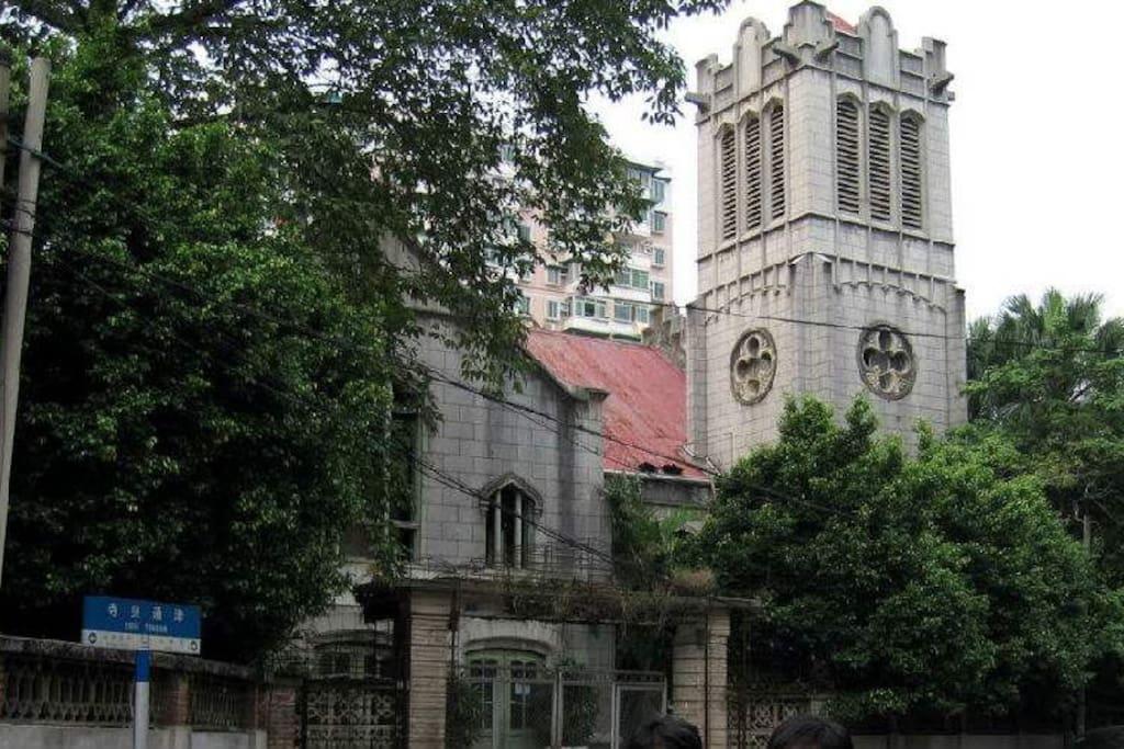 民国时期建成,拥有100年历史的古老教堂