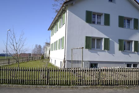 Lovely flat 10 min away from Sankt Gallen I - Wittenbach - Appartement