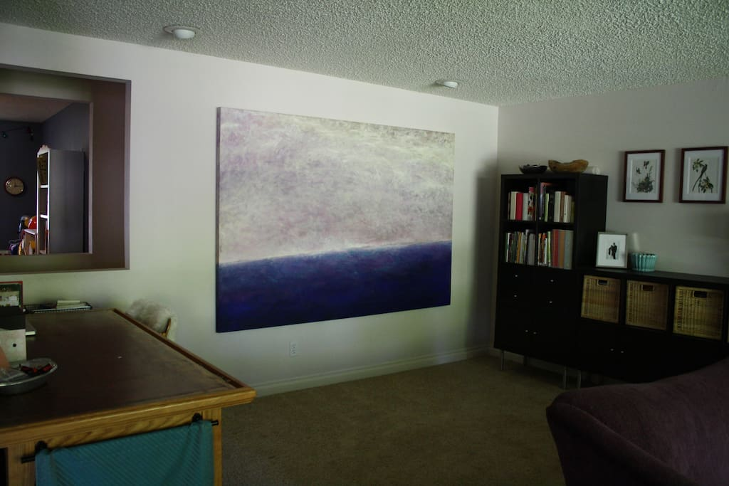 Back of the family room
